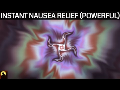 POWERFUL Nausea Relief Binaural Beats and Isochronic Tones | Healing Sound Therapy