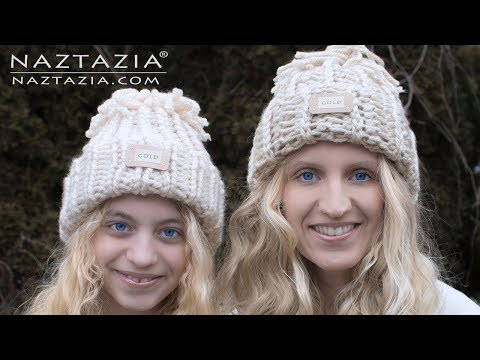 How to Crochet Easy Beginner Hat - Snow Games Hat with Reviews by Sarah