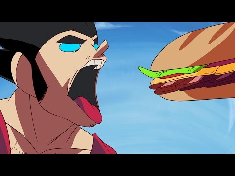 GOKU MAKES A SANDWICH