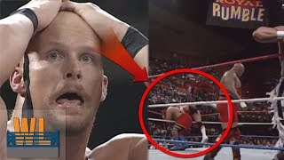 7 Botched Royal Rumble Eliminations! (That Weren
