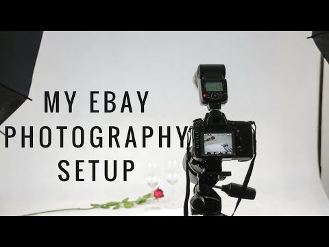 My eBay Photo Setup & What I bought To Take Quality Pictures