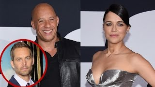 EXCLUSIVE: Vin Diesel Michelle Rodriguez & 'The Fate of the Furious' Cast Open Up About Paul Walk…