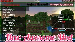 minecraft pe mod menu download