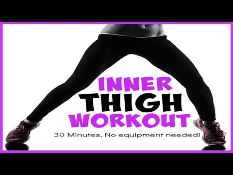 inner thigh fat -  How To Lose Inner Thigh Fat in 1 Week at Home Fast with workout exercises