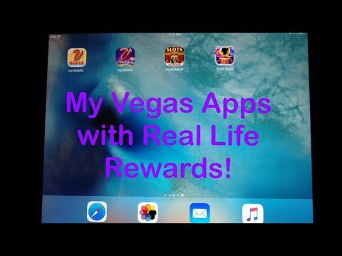 My Vegas App with Real Life Rewards