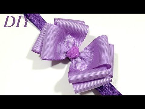 How To Make Hair Bows 🎀 DIY #193 Grosgrain Ribbon Hair Bow Tutorial