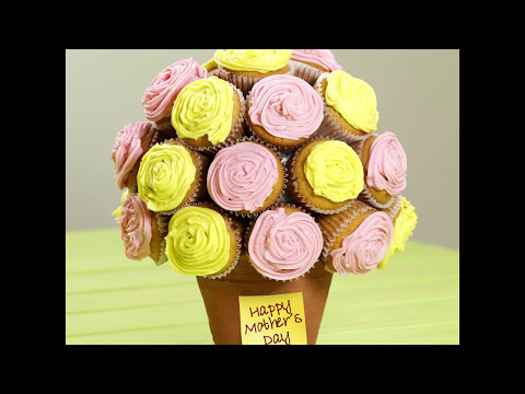 This Mother's Day, Make your Mom Feel Extra Special with this Cupcake Flower Bouquet 💐