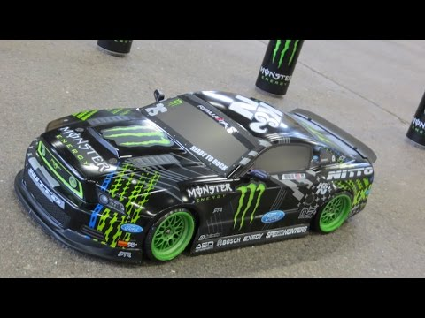 RC HPI 2013 Ford Mustang Gittin Jr Monster DRIFT 2014