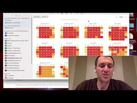 How Can I Put My Google Calendar On to My Computer Desktop ?