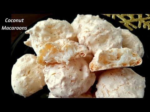 Coconut Macaroon Recipe || How To Make Coconut Macaroons?