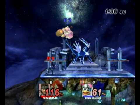 Super Smash Bros Brawl Spear Pillar Battle