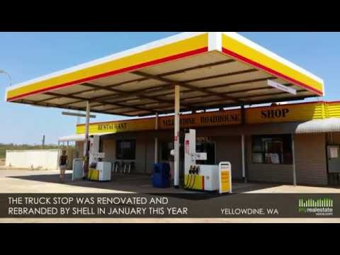 Renovated Rebranded Shell Truck Stop Business for Sale - Yellowdine, WA