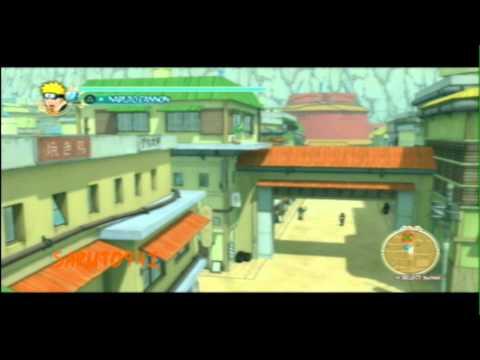 NARUTO: Ultimate Ninja Storm Walkthrough Part: 02   Genin Training Arc: [2-2]
