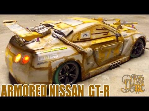 RC DRIFT CAR - NISSAN MACHINE GUN GT-R (the drive)