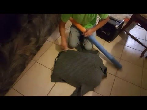 Making a CHEAP & FAST dog/cat bed