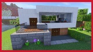 Minecraft come costruire una casa survival for Casa moderna fortnite