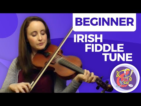 Learn An Easy Irish Fiddle Tune - 'Maggie in the Woods'