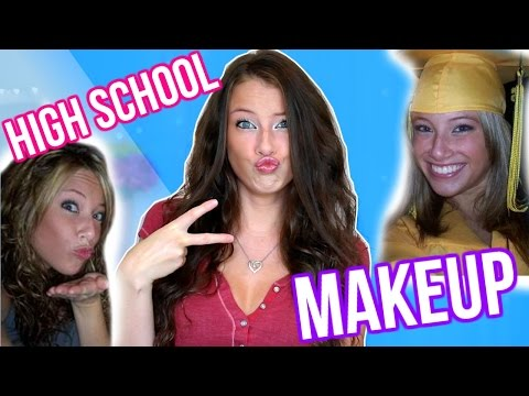 HOW I DID MY MAKEUP IN HIGH SCHOOL | Kelly Nelson