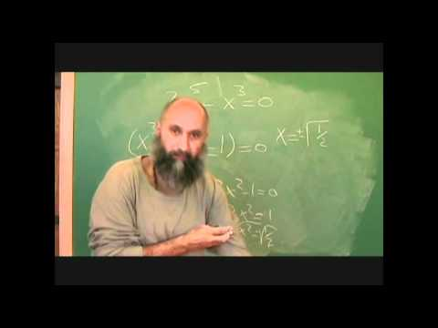 420math: Solving an equation, Graphing the Function: Greatest Common Factor, GCF (Math #84)