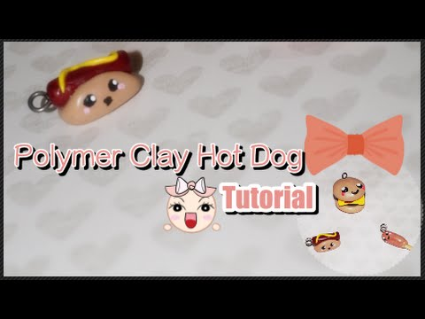 Beginner: Polymer Clay Hot Dog Tutorial