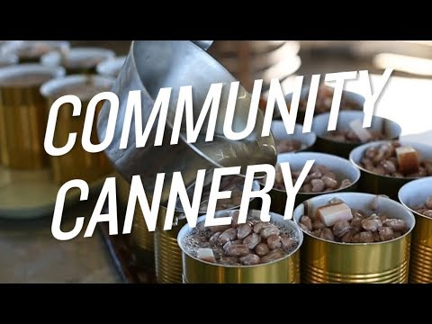 Take a Look Inside a Community Cannery