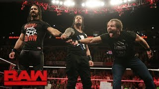 The Shield reunite: Raw, Oct. 9, 2017