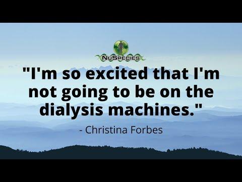 Christina Forbes- High Blood Pressure & KIdney Failure