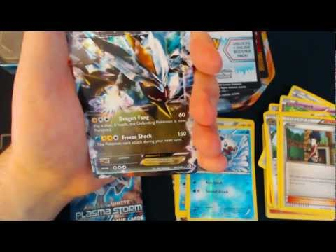 White Kyurem EX Tin Opening Pokemon TCG 3