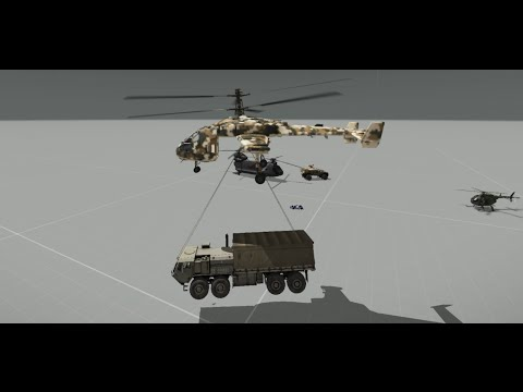 How to use MI-290 Taru & CH-67 Huron (Quick Tutorial)[DE/EN]