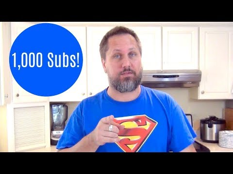 1,000 Subscribers!