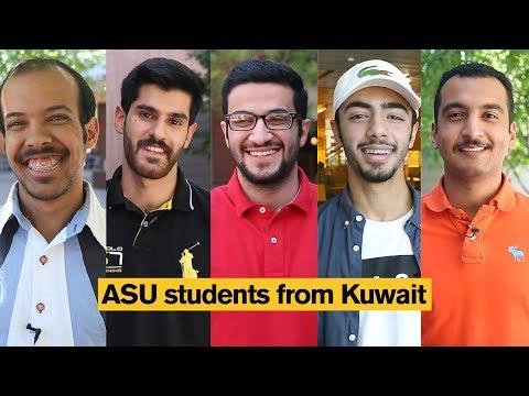 Arizona State University (ASU) students from Kuwait