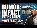 Michael Cole LEAVING WWE RAW NXT amp 205 Live MERGING IMPACT BUYING ROH WrestleTalk News 2019