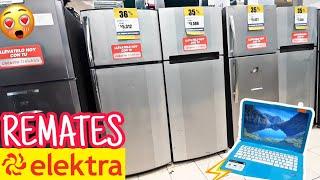 REMATES ELECKTRA Refrijeradores Motos, Computadoras, Lavadoras, Televisores y más