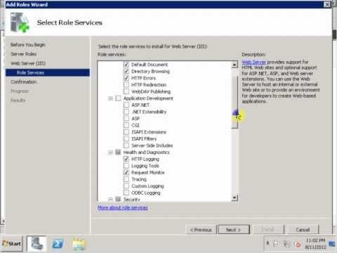 How to Install IIS 7 on Windows Server 2008 R2