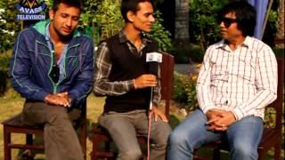 बरिष्ठे र पाँडेको भतिजसंग ररमाईलो गफ ll ACTOR Gobinda Koirala & Sankar Achrya