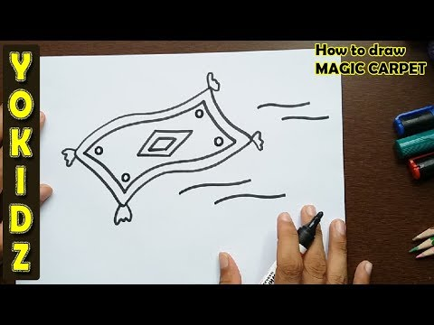 How to draw MAGIC CARPET