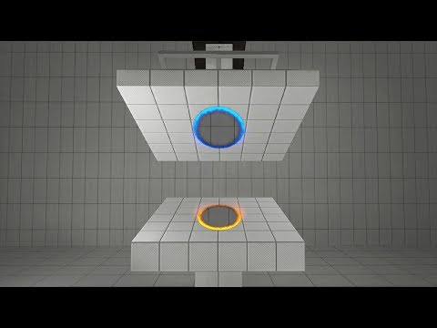 Crushed between two portals experiment