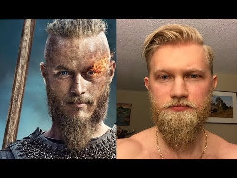 VIKING STYLE! First time trimming the beard