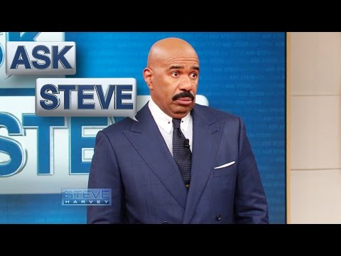 Ask Steve: NO SMOKING…kinda || STEVE HARVEY
