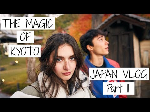 The MAGIC of KYOTO, JAPAN | Japanese Travel Vlog - Part 2 | Jessica Clements