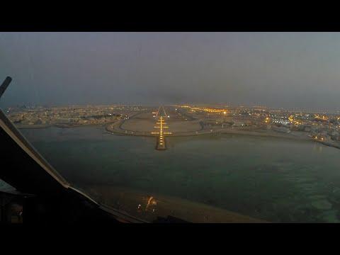 PilotCAM A321 AutoLand in Bahrain