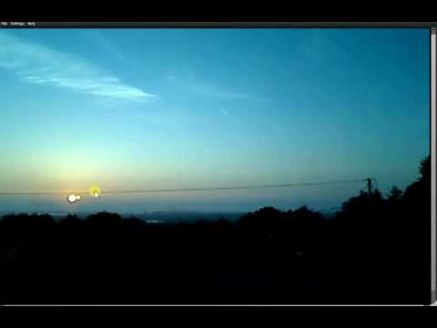Two Suns - Fake, Artifical, Hexagonal Sun, Seen in Ireland