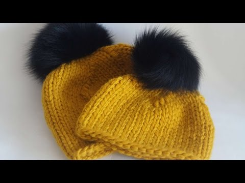 How To Fashion A Hat Of Thick Yarn - DIY Crafts Tutorial - Guidecentral