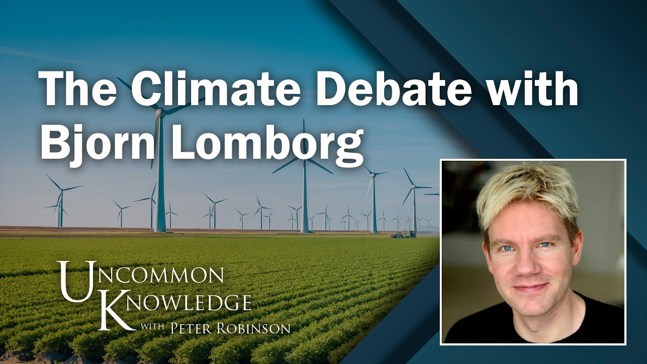 Keeping Your Cool on the Climate Debate with Bjorn Lomborg