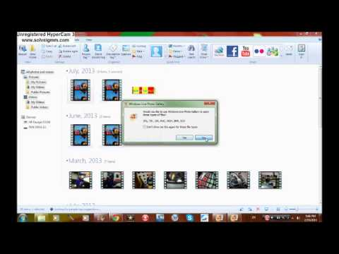 how to use windows live photo gallery