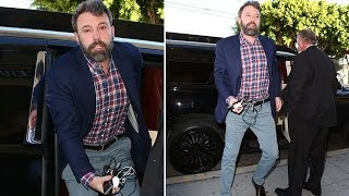 Ben Affleck Hits Rehab Before Celebrating Thanksgiving With Jen And The Kids