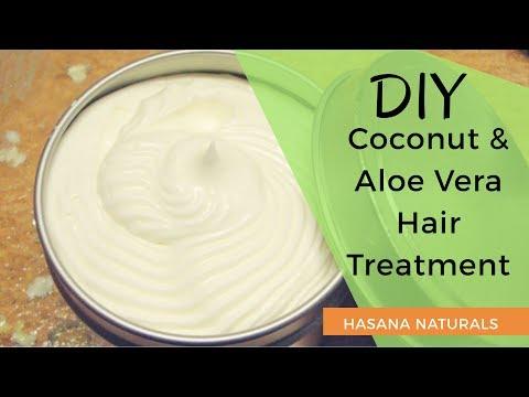 HOW-TO Skincare   Best DIY Coconut & Aloe Vera Cream (Hair & Skin)   Hasana Naturals