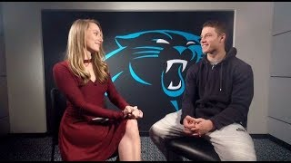 Panthers Christian McCaffrey Talks Football, Faith, & Bruce Lee
