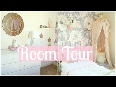 BAYLEE'S TODDLER ROOM TOUR!!   TODDLER GIRL ROOM DECOR   Tara Henderson