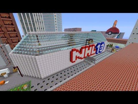 Minecraft Xbox - Pokemon Battle - Novakov City - Part 1